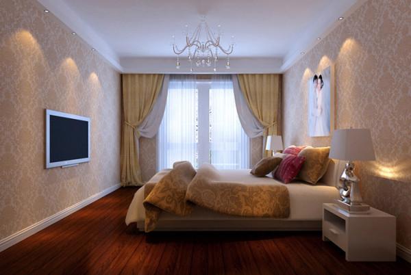 正商新蓝钻、三居室、简约风格、设计装修、效果图【卧室设计图】