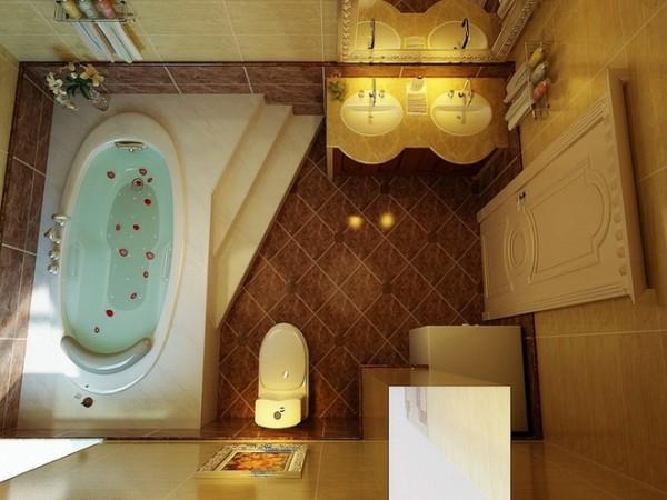 跃层卫生间装修设计装修效果图展示