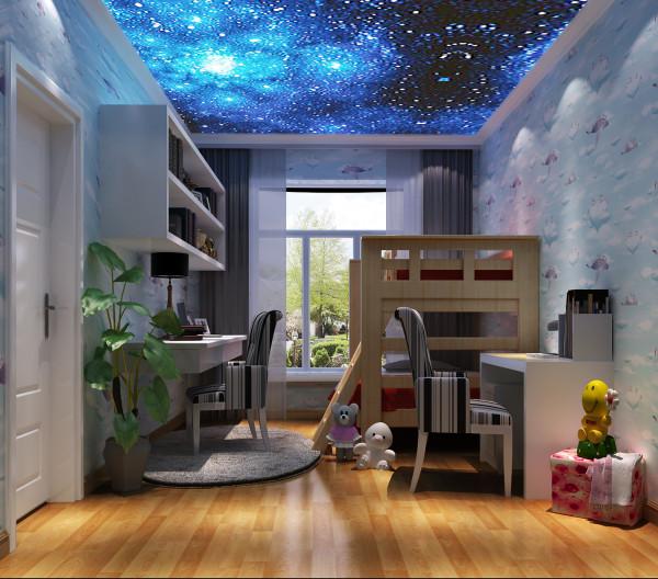儿童房简约梦幻