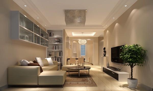 客厅是体现整体风格最明显的区域,现代的沙发、现代的装饰画,卧室,体现整体空间的完整性。效果得到了业主的好评,女主人很满意。充分体现出了设计师对业主喜好及想要的效果把控。