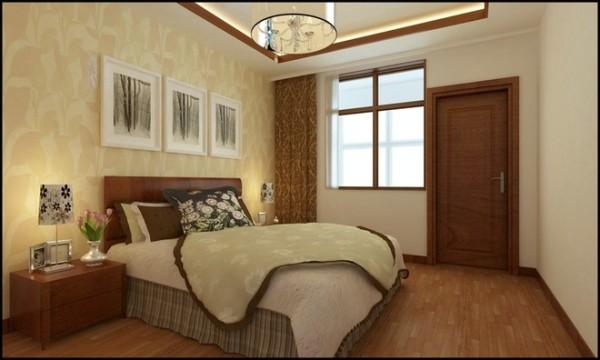华林国际中式风格卧室装修设计效果图展示