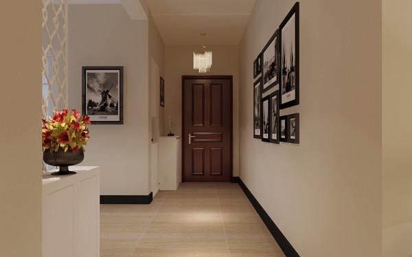 北郡-144平米现代简约风格过道厅效果图