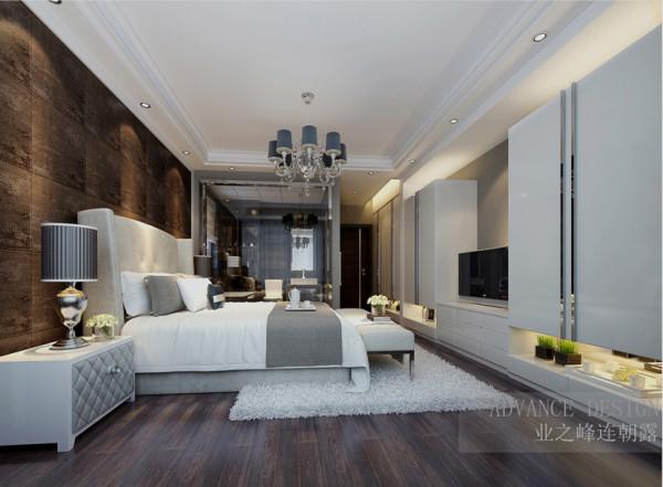 正商新蓝钻三居室简约风格装修效果图【卧室设计效果图