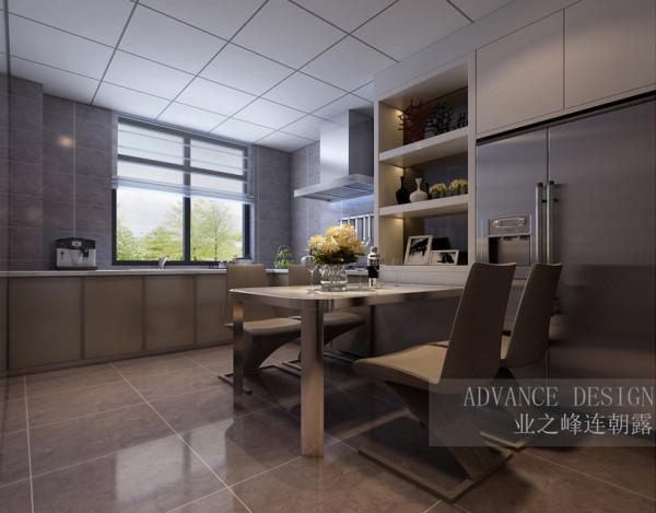 正商新蓝钻三居室简约风格装修效果图【餐厅设计效果图