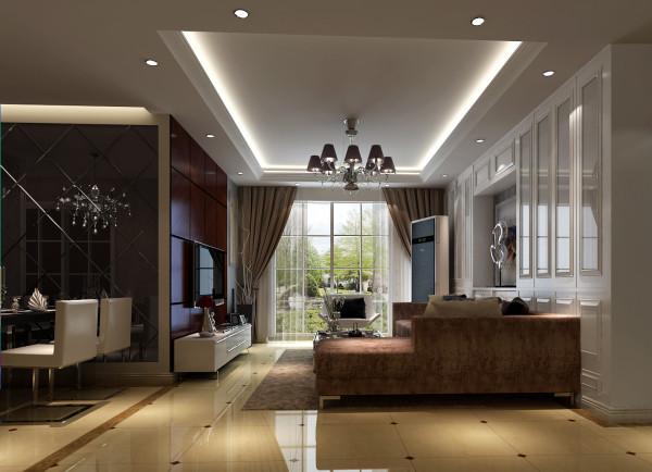 简约家居的沙发多采用素雅的色彩和图案,所以沙发靠垫尽量选择调节整个室内空间的气氛,色彩可以跳跃一些,但不要太过