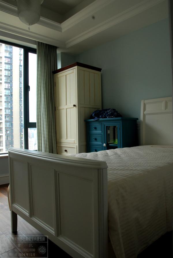 名雕墅派整装定制--中海康城--美式风情卧室