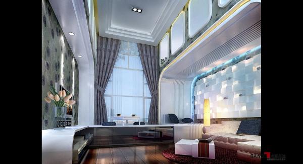 名雕丹迪设计--江南别墅--现代奢华--视听室