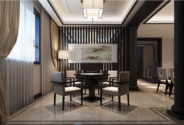 清华忆江南小区新中式别墅欣赏|效果图|图片|大全_-网图片