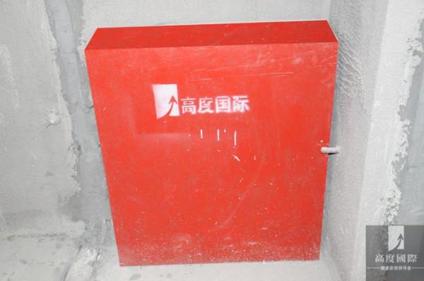 电水箱成品保护...
