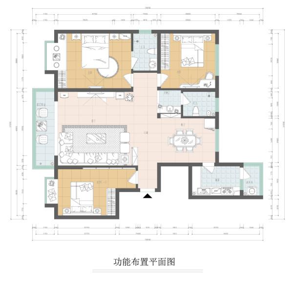 建业贰号城邦户型图