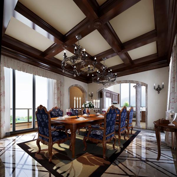 中式装修风格客厅1