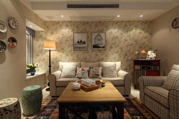 客厅像是田园风格