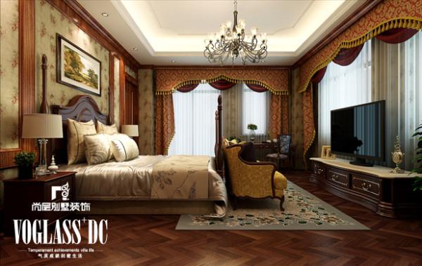 主卧室—设计简洁自然,展现出的是东南亚家居风格