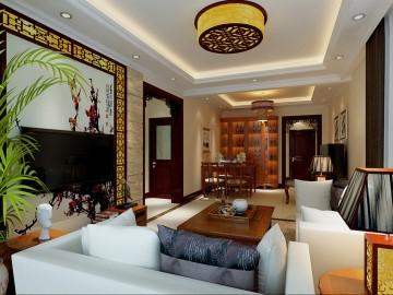 中式两居室,典雅和华贵