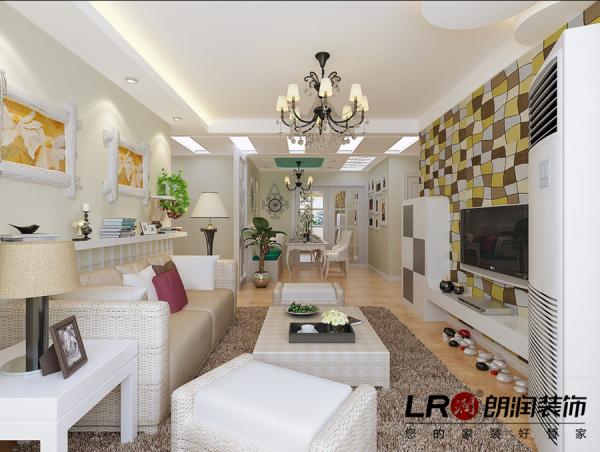 客厅主色调白色,欧式的纯美的特征,造型其实都不多,关键在于设计的巧妙搭配,电视墙更是画龙点睛的美好,喜欢这样的简单,清新唯美。