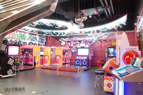 名雕盛邦公装设计院——反斗乐园星际传说旗舰店——游戏区