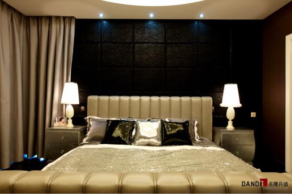 名雕丹迪别墅设计--东方尊峪别墅--现代风格--卧室