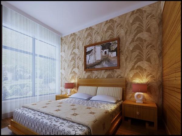 远见小区三居室中式风格卧室装修设计效果图案例展示