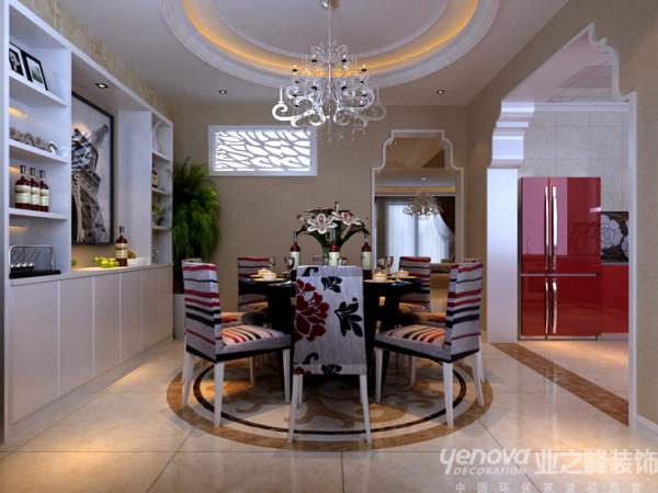 金域蓝湾复式楼装修效果图郑州最好的装饰公司业之峰装饰【金域蓝湾设计餐厅设计效果图】