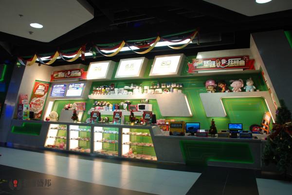 名雕盛邦公装设计院——反斗乐园星际传说旗舰店——服务区