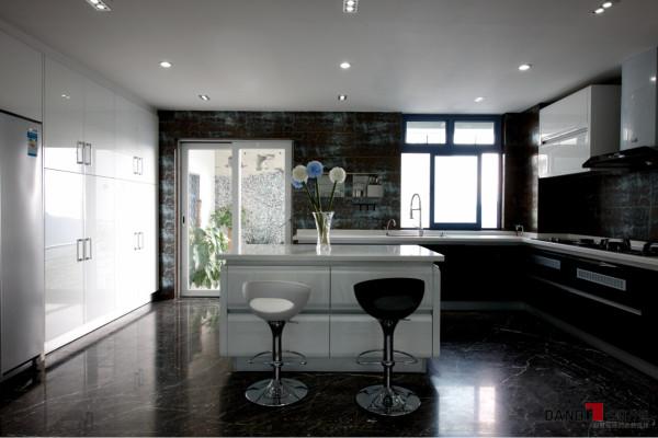 名雕丹迪别墅设计--东方尊峪别墅--现代风格--厨房