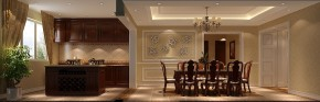 三居 白领 欧式 简约 屌丝 白富美 高富帅 高度国际 餐厅图片来自高度国际装饰舒博在四合上院、古典欧式的分享