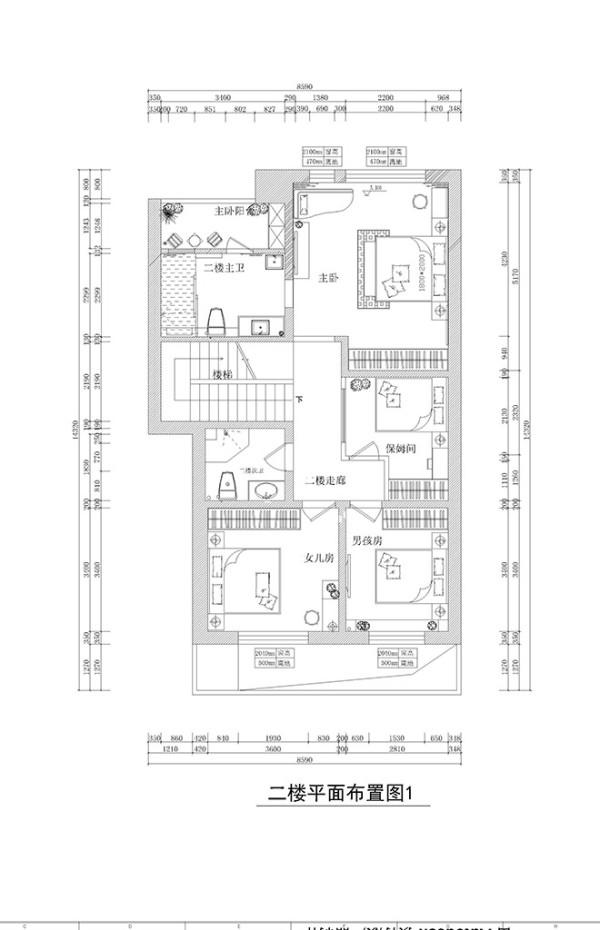新密市金域蓝湾欧式风格别墅装修效果图【户型图设计效果图】