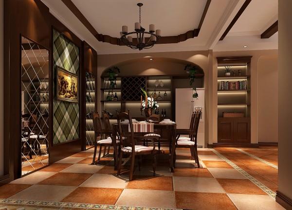 运用大量的石材和木饰面装饰,欢有历史感的东西,这不仅反映在软装配件上对仿古艺术品的喜爱,同时也反映在装饰上对各种仿古墙地砖、石材的偏爱和对各种仿旧工艺的追求上。