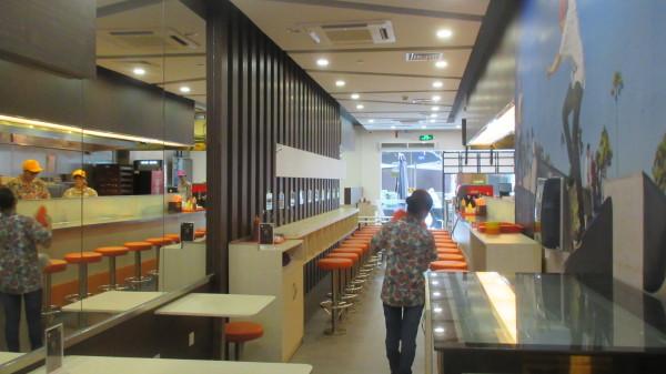主就餐区  免费提供wifi及ipad
