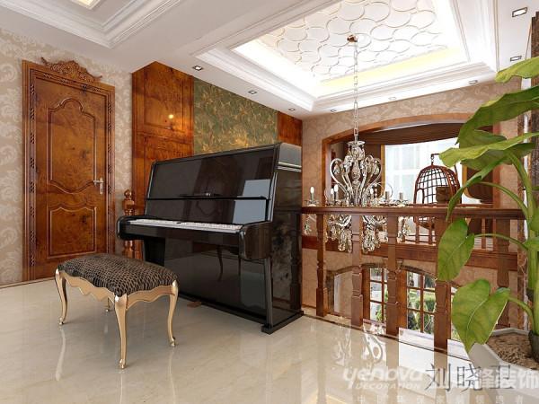 古典欧式风格新乡上海城欧式古典风格别墅装修【玄关】