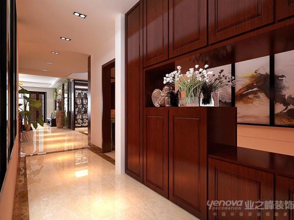 郑州市天地湾220平方别墅装修设计案例【玄关房子设计效果图