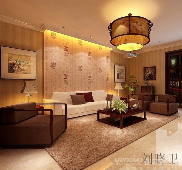郑州市天地湾220平方别墅装修设计案例【负一层语音室设计效果图