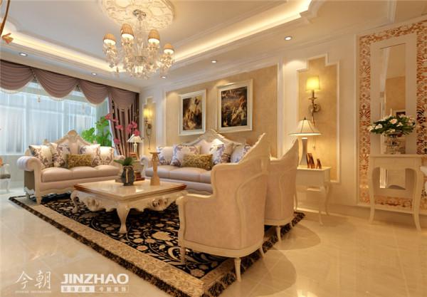 高雅的大气的欧式沙发。