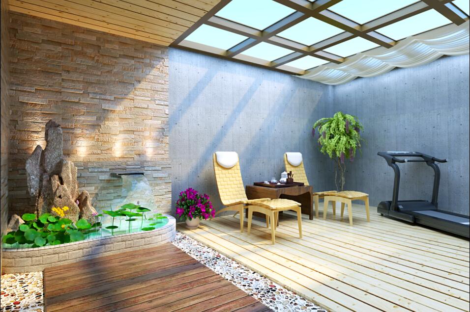 家里阳台装修,个人比较喜欢乡村式田园风格,使用伊派瓷砖的波尔多系列