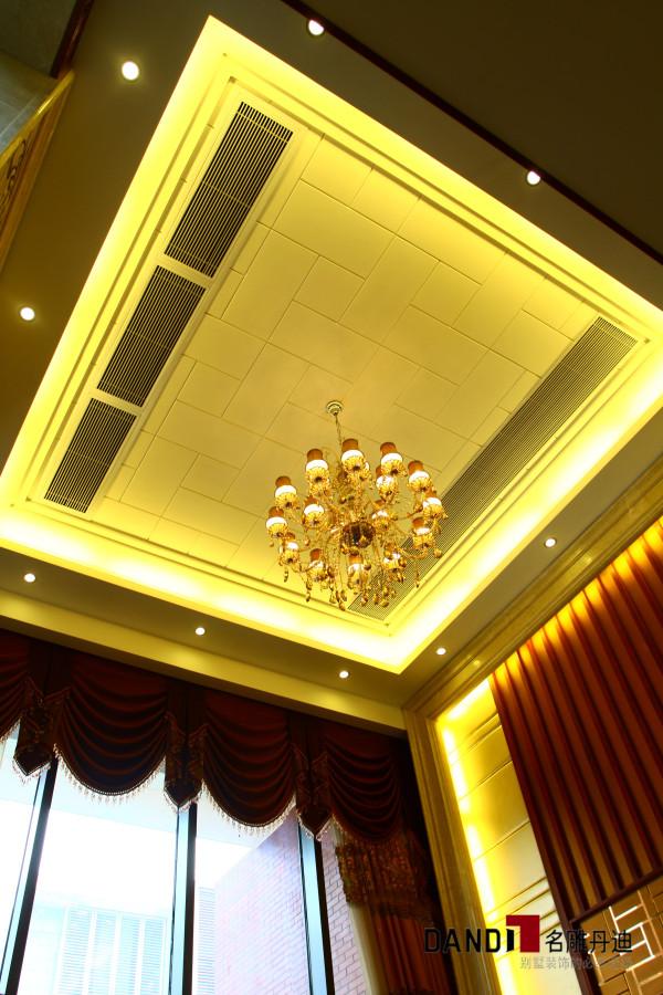 名雕丹迪设计--金地九珑璧别墅--新中式吊灯