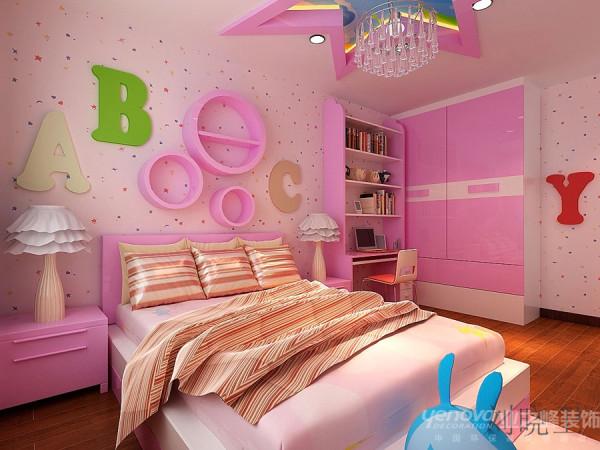 郑州市天地湾220平方别墅装修设计案例【二层儿童房子设计效果图