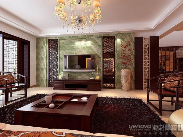 郑州市天地湾220平方别墅装修设计案例【客厅房子设计效果图