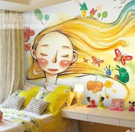 梦幻色彩儿童房