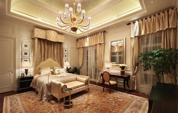 中凯铂宫欧式风格别墅—卧室