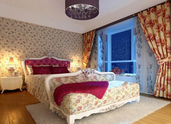 简欧的卧室风格给您别具一心的舒心
