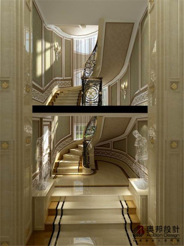 上海博园别墅现代新欧式风格装修设计方案展示,本案由上海奥邦装饰设计总监陈浩提供,设计师旨在为业主打造一个舒适自然的居住环境
