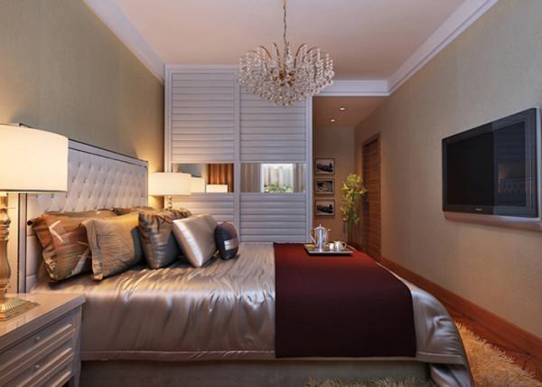 本案例为业之峰装饰为国仕山四居室188平米做的现代设计图