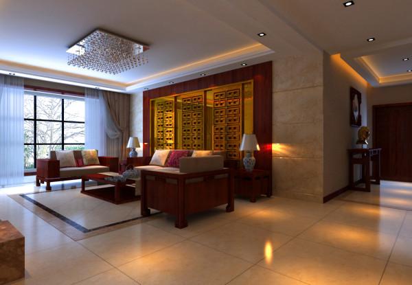财信圣堤亚纳三居室简约风格装修设计效果图