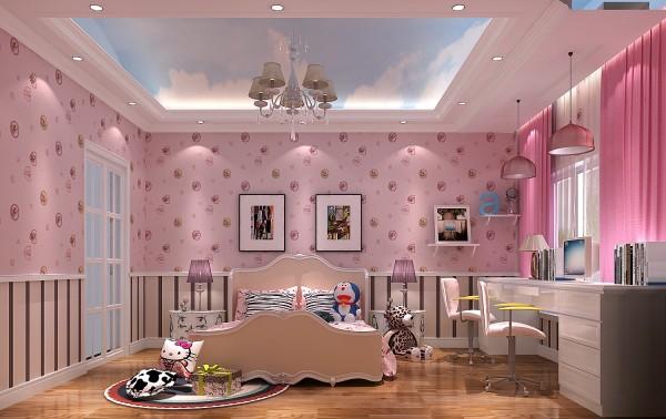 粉嫩的公主房
