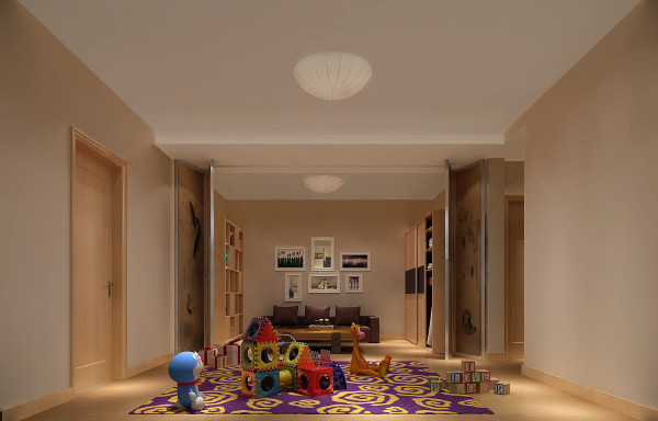 地下客厅    以简洁的表现形式来满足业主对空间环境那种感性的、本能的和理性的需求。