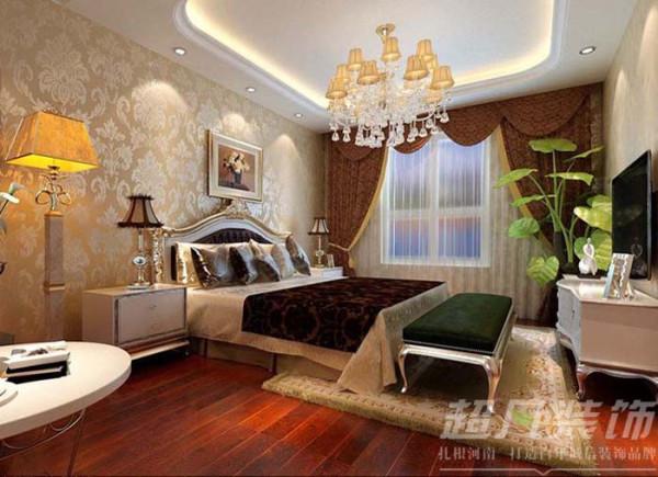 中凯铂宫复式别墅欧式风格卧室效果图