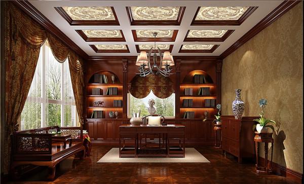 丰富多彩书房