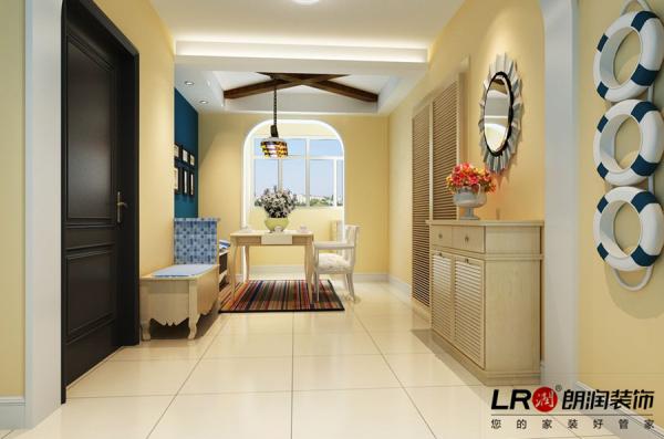 餐厅是和客厅区分开来的,简单温暖,家的味道,又清新淡雅,吃饭的氛围噢!