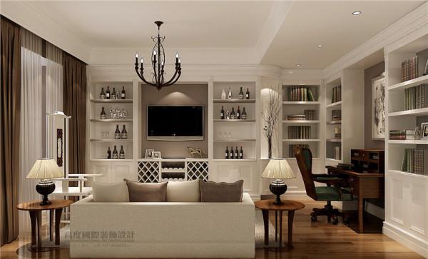 简单大方书房