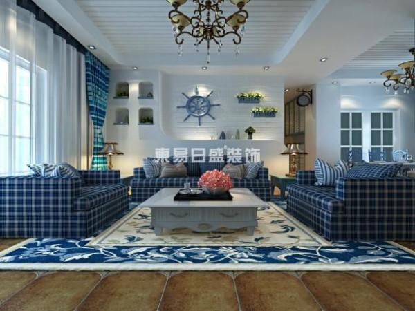 """地中海周边国家众多,民风各异,但是独特的气候特征还是让各国的地中海风格呈现出一些一致的特点。 通常,""""地中海风格""""的家居,会采用这么几种设计元素:白灰泥墙、连续的拱廊与拱门,陶砖、海蓝色的屋瓦和门窗。"""